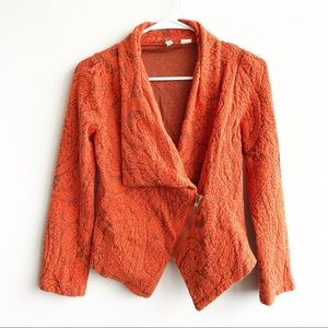 Anthropologie | Moth Paisley Gust Sweater Jacket
